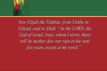Elijah: Understanding... - Part 1 - 5/5/2013
