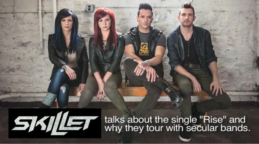 Crosswalk.com: Is it okay for Christian artists to share a stage with secular artists? - Skillet