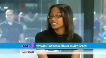 Formerly Homeless Teen Graduates as Valedictorian