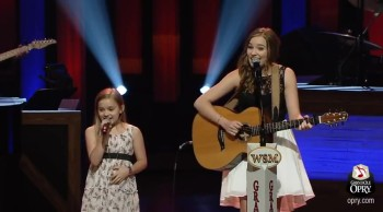 Incredible Singing Sensation Sisters Lennon and Maisy Perform Ho Hey