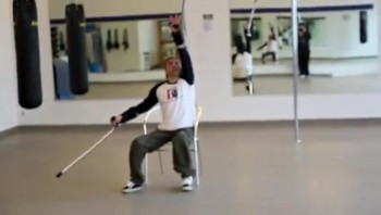 Polio Victim on Crutches is an Incredible Dancer!