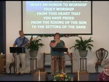 Worship June 2 2013