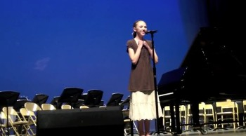 "London Singing ""I Dreamed a Dream"" 13 years old"