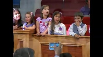 """I'm happy today"" - FRBC Kids Choir- Mai, 2013"