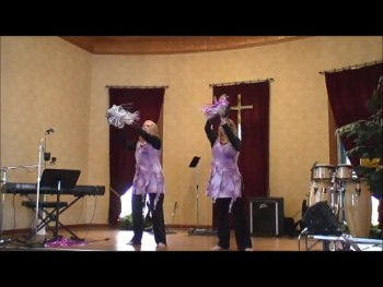 """Carry Me"" performed by Destiny Dancers on tambourine"