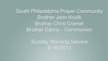 SPPC Sunday Morning Service - 6/16/13