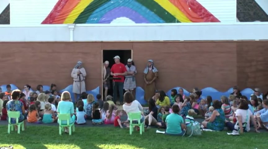 First Reformed Church VBS Noah June 20, 2013 Pt. 1