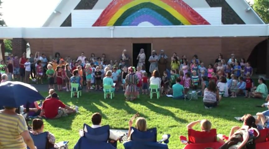 First Reformed Church VBS Noah June 19, 2013, Pt.2