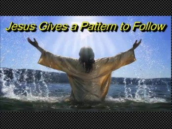 "Randy Winemiller ""Jesus Gives a Pattern to Follow"""