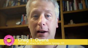 Plastic Donuts Endorsement - Pastor Craig T. Owens