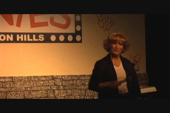 Female Christian Comedian Sally Edwards