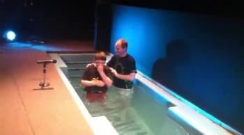 Joey's Baptism