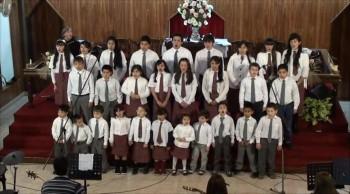 Alabanza Coro de niños. Día del Padre-1. 16-06-2013