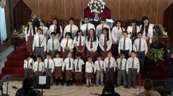 Alabanza Coro de niños. Día del Padre. 16-06-2013