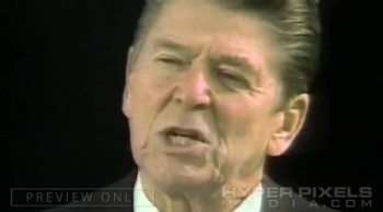 Ronald Reagan Delivers Godl