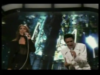 An Impossible Duet Comes to Life - Celine Dion and Elvis Presley!