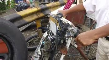 "Hybrid ""Motor"" Bike - Philippines"