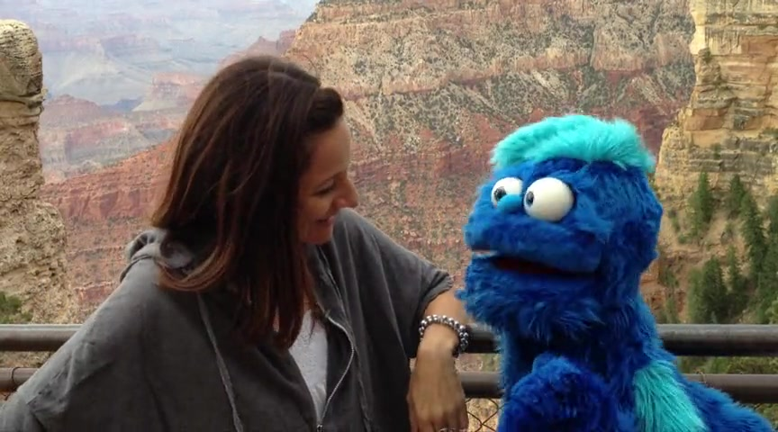 Big Red Puppet- Duck Dynasty Made the Grand Canyon??