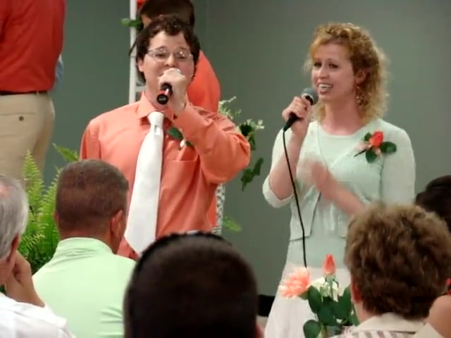 Sarah & Johnny Curlin Singing the Prayer