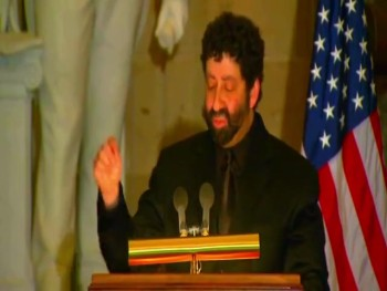 JONATHAN CAHN SPEAKS TO CAPITOL HILL