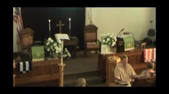 July 14 2013 Lancaster First Presbyterian Service
