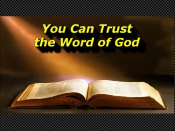 "Randy Winemiller ""You Can Trust the Word of God"""