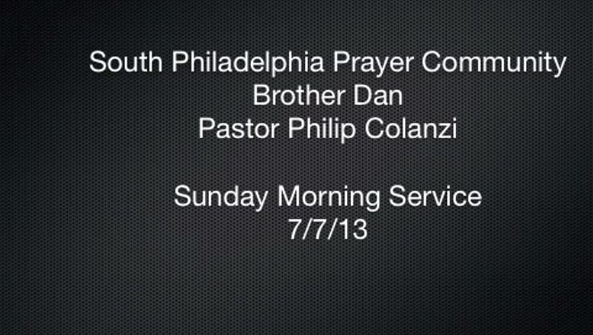 SPPC Sunday Morning Service - 7/7/13