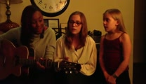 Lennon and Maisy Sing I'm Yours with Jamie Grace!