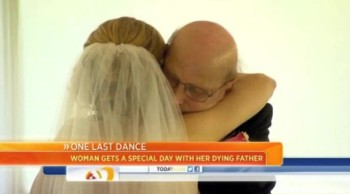 Daughter Records First Dance With Her Dying Father to Save For Her Wedding Day