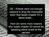 About ISAIAH 53: The servant in the chapter is Jesus, The Jewish Messiah!