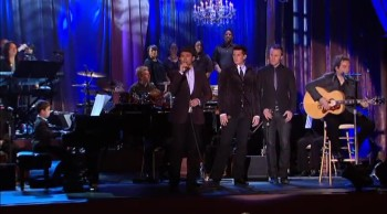 Child Piano Prodigy and The Canadian Tenors Perform Hallelujah