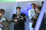 Bride Plays the Banjo at Her Wedding