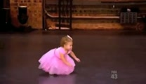 2-Year-Old Ballerina Crashes Mommy s Audition... and Steals the Show!