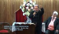 Nuestra voluntad rendida a los pies de Jesus. Hno. Javier Almiron. 20-07-2013