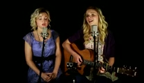 Sisters Sing Grandmother's Favorite Song Amazing Grace (My Chains are Gone) in Perfect Harmony!