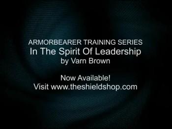 Armor-Bearer Training Series - In The Spirit of Leadership Book Trailer