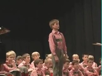 This Schoolboy's Performance of Ave Maria is Amazing