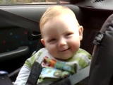 Baby Fights Sleep With a Cute Smile :)