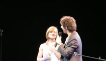 Josh Groban Sings 'The Prayer' With a Music Teacher