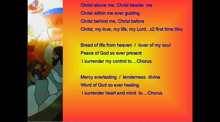 Christ Above Me