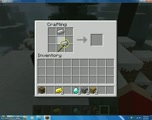 How to make a sword in minecraft