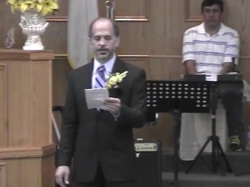Pastor Aragon installation service at UBC Part#2