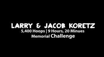 Larry and Jake Jump Shot Challenge