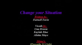 Mimes) Change Your Situation  (Proverbs 31 Girls)