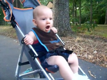 Baby Boy Has Hilarious Reaction to Fireworks
