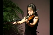 Violinist Elizabeth Torres playing As The Deer pants