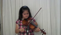 Violinist Elizabeth Torres Playing - I Worship You
