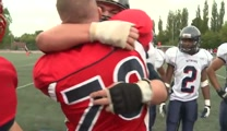 Airman Surprises His Teen Son by Dressing as a Football Player