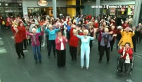 Grandma and Grandpa Flash Mob Will Make You Smile