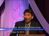 Pastor Preaching - September 29, 2013